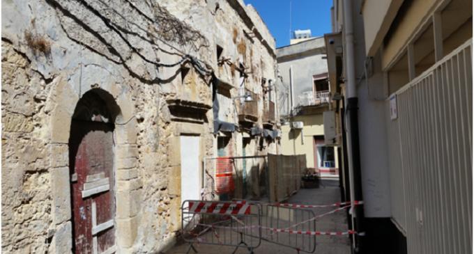 """Castelvetrano: """"Casa Pardo"""" sempre più a rischio crollo…urge la messa in sicurezza"""