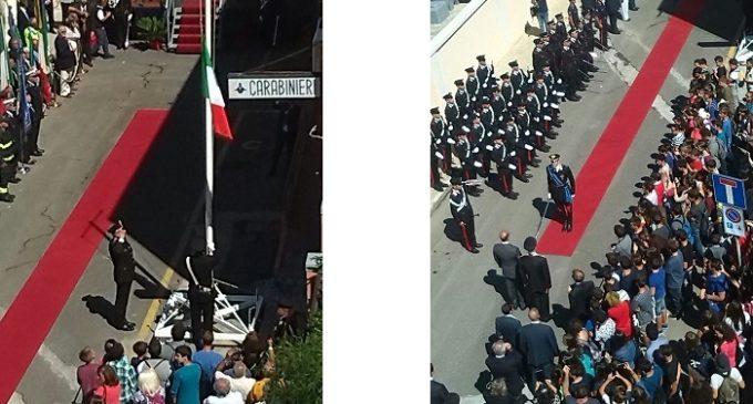 Si è svolta la cerimonia dell'intitolazione della Caserma dei Carabinieri di Pantelleria