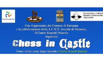 "Partanna: domenica 18 settembre ""Chess in Castle"""