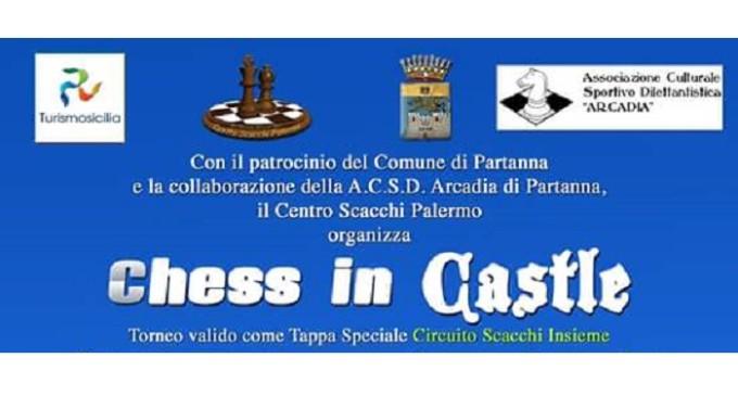 """Partanna: domenica 18 settembre """"Chess in Castle"""""""