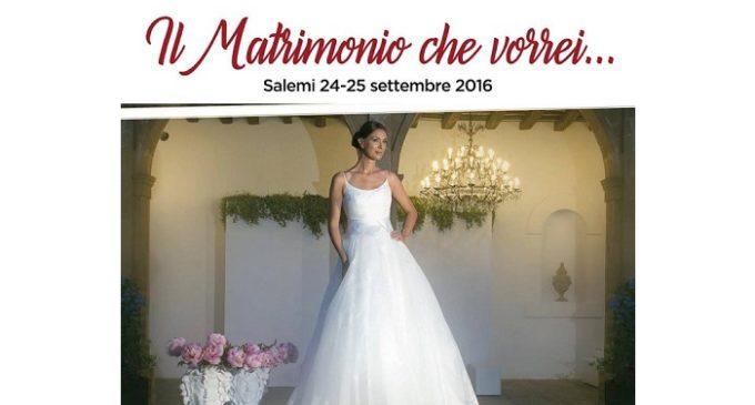 """Salemi: 24 e 25 settembre """"Il matrimonio che vorrei…"""""""