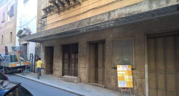 [Flash News] Partanna: iniziati i lavori di restauro dell'ex Cine Astro