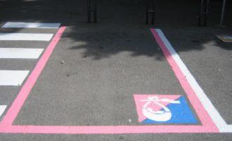 Partanna: creazione stalli per parcheggi rosa all'interno del centro urbano