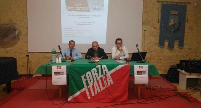 Forza Italia, a Valderice incontro per sensibilizzare a votare NO al Referendum