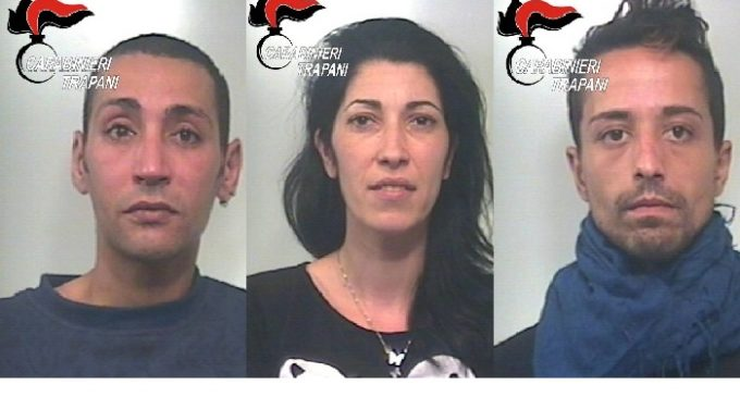 Mazara e Campobello: controllo del territorio dei Carabinieri, 3 arresti