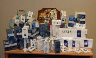 Contrabbando di sigarette: arrestato un partannese al porto di Palermo