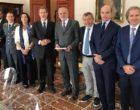 Delegazione della Commissione regionale antimafia  in visita dal nuovo prefetto di Trapani Giuseppe Priolo