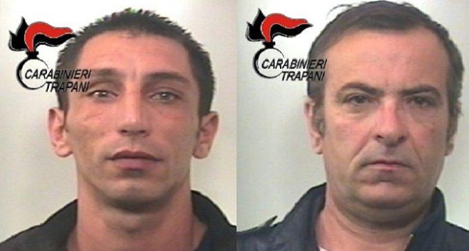 Marsala : furti e rapine, due arresti dei Carabinieri