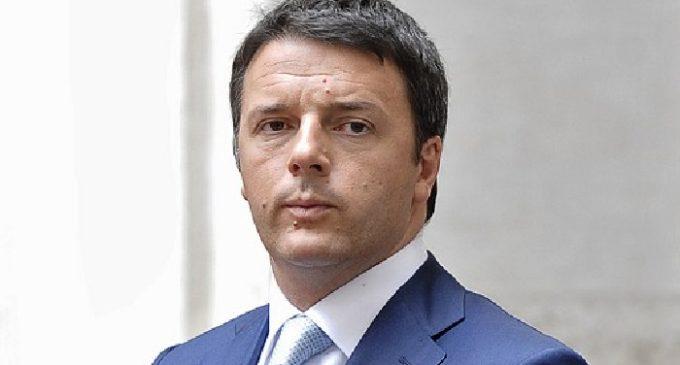 Il Presidente del Consiglio dei Ministri Matteo Renzi sabato a Trapani