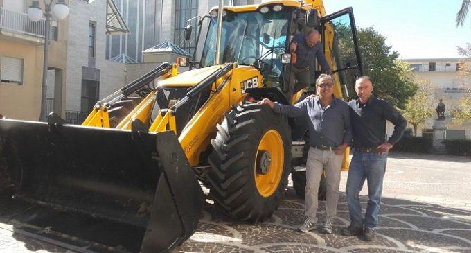 Santa Ninfa: un nuovo mezzo meccanico per gli interventi nelle strade rurali