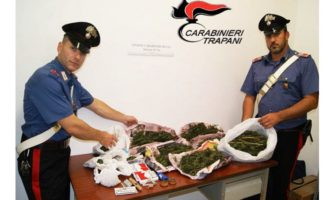 Vita: oltre 1,5 kg di marijuana pronta ad entrare sul mercato, un arresto dei Carabinieri
