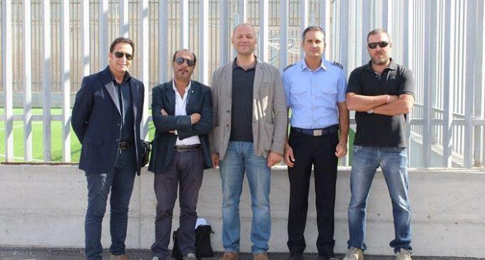 Trapani: delegazione Uilpa in visita al nuovo padiglione del carcere di San Giuliano