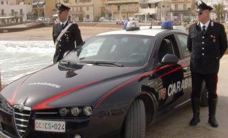 Castelvetrano: due denunce per ricettazione e porto d'armi atti ad offendere