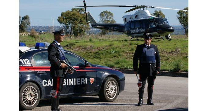 Servizio a largo raggio dei Carabinieri tra Santa Ninfa e Gibellina