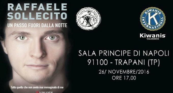 Sabato, a Trapani, la presentazione del libro di Raffaele Sollecito