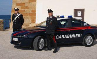 Trapani: due giovani arrestati dai Carabinieri