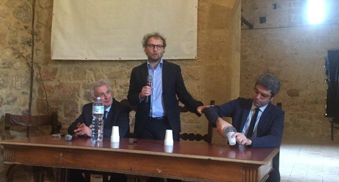 Il sottosegretario del Governo Renzi Luca Lotti a Salemi