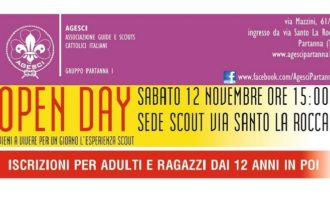 Partanna: sabato open day Agesci – Scout