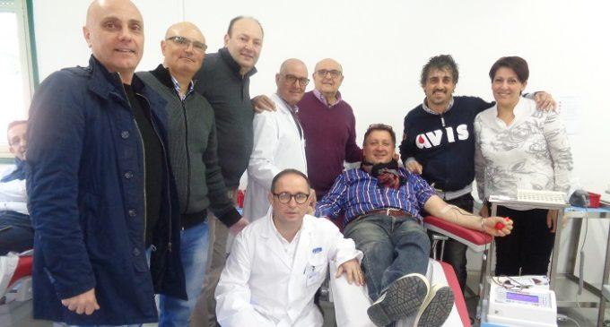 700^ donazione e record all'Avis di Partanna