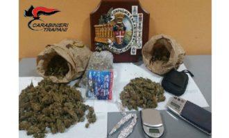 Castelvetrano e Partanna: due arresti e una denuncia per detenzione ai fini di spaccio