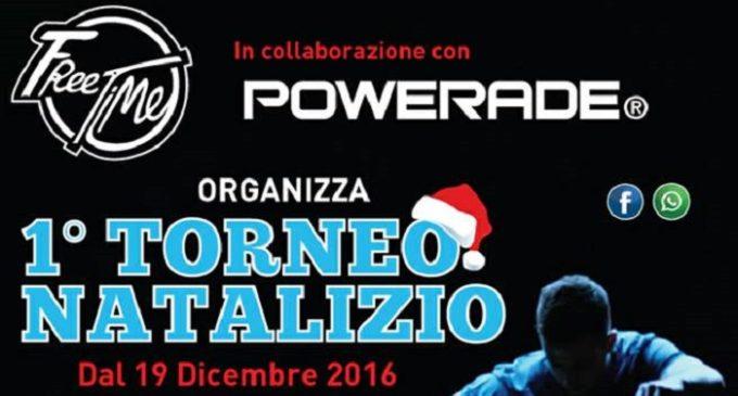 Partanna: lunedì 19 dicembre presso il Centro Free Time parte il 1° Torneo Natalizio