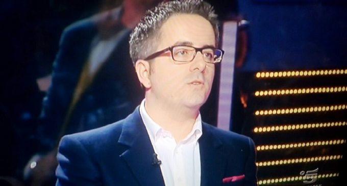 "Francesco Crinelli trionfa a ""Caduta Libera"": vinti 57.500,00 euro"