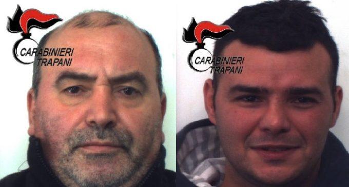 Furti nel capoluogo: i Carabinieri arrestano due trapanesi