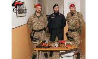 Castelvetrano: Carabinieri arrestano 77enne per illecita detenzione di armi e munizioni