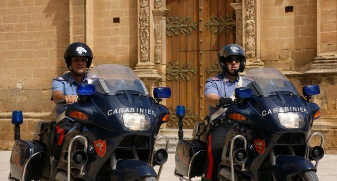 Castelvetrano, una condanna per furto aggravato: arrestato dai Carabinieri