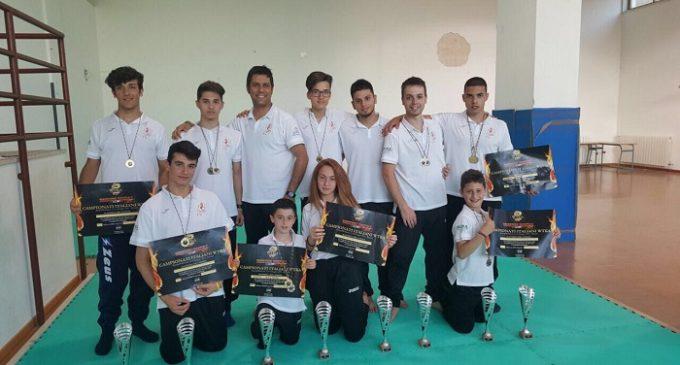Il Team Phoenix, chiude la stagione agonistica a Rimini: 14 piazzamenti sul podio