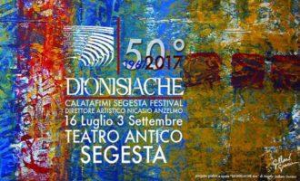 Tutto pronto per il Calatafimi Segesta Festival – Dionisiache 2017