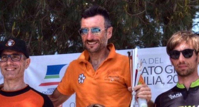 """Santa Ninfa, Pietro Agosta porta a casa la vittoria del """"Granfondo"""""""