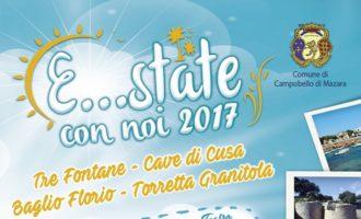 """Proseguono gli appuntamenti del cartellone """"E… state con noi 2017"""" a Tre Fontane e a Torretta Granitola"""