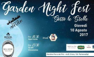 Garden Night Fest – Ultimo giorno per acquistare le prevendite
