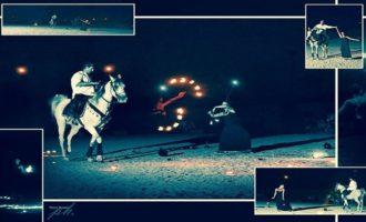 Sabato 2 settembre lo spettacolo dei cavalli arabi al Castello di Rampinzeri