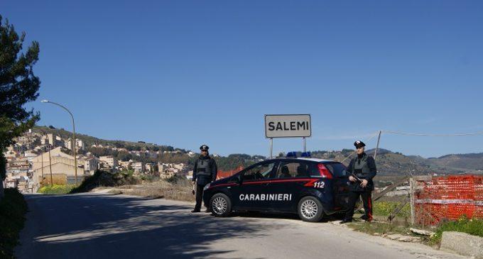 Salemi, servizio coordinato dei Carabinieri.  1 arresto
