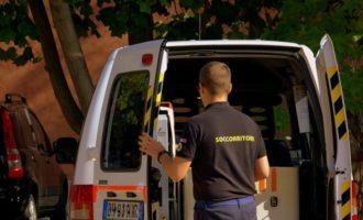Singolare incidente tra Triscina e Selinute: ambulanza perde il controllo e si ribalta