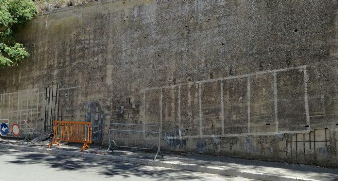 Partanna, il muro della XV gennaio a rischio crollo ?