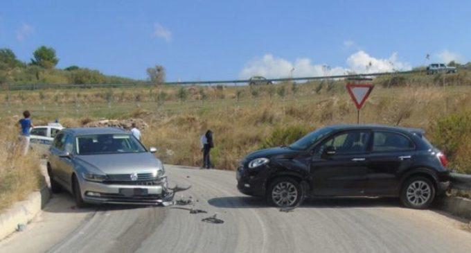 Partanna, incidente in via Torre di Maggio. Interviene la Municipale