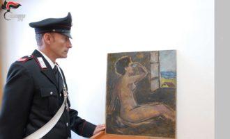 Opera d'arte contraffatte e vendute come originali. Sgominata banda attiva tra la Sicilia e l'Emilia Romagna