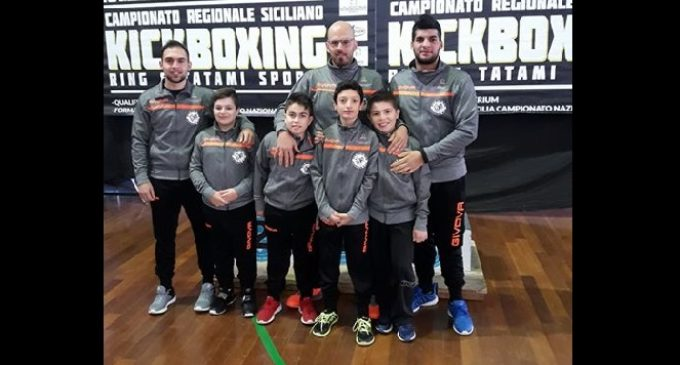 "Il team ""Another Way"" di Partanna: importanti punti in vista del Campionato Italiano di Kick Boxing"