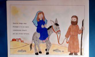 """""""Raccontando il Natale"""", l'originale spettacolo dei bambini del plesso San Francesco di Gibellina"""