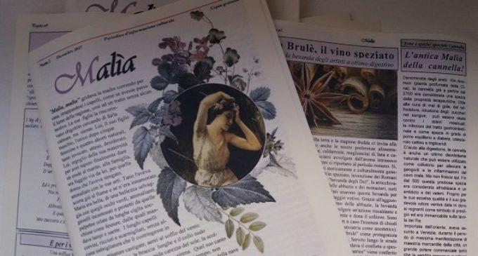 """Salemi: """"Malìa"""", la rivista culturale sull'Eterno femminino. Il 27 dicembre la presentazione"""