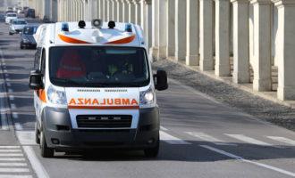 Incidente in C/da Fontana scontro auto-scooter