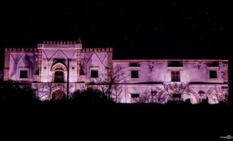 Santa Ninfa: a cento giorni dal Giro d'Italia i monumenti si illuminano di rosa