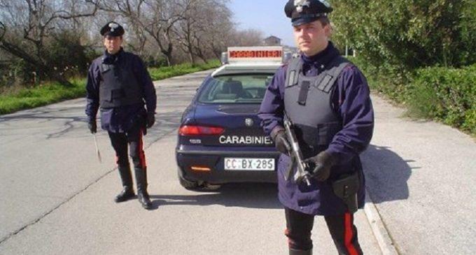 Carabinieri arrestano castelvetranese per la quarta volta in un mese