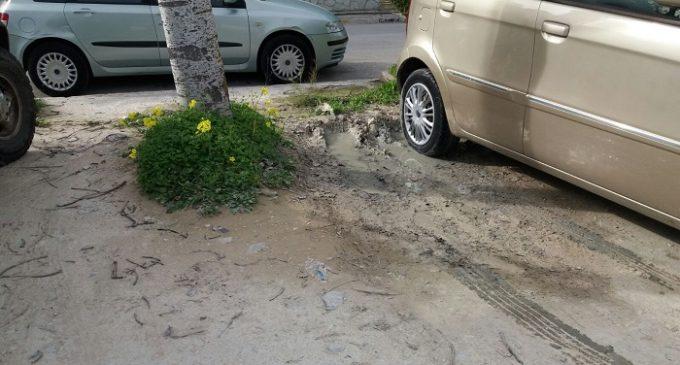 Salemi, lavori per il rifacimento del parcheggio esterno all'ospedale. Decoro urbano e funzionalità