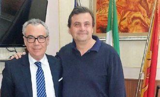 """Il ministro Calenda a Partanna. Catania: """"Visita tanto inaspettata quanto gradita"""""""