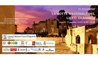 """A Salemi la Notte Nazionale dei Licei Classici. Il """"D'Aguirre"""" pronto per la IV Edizione"""