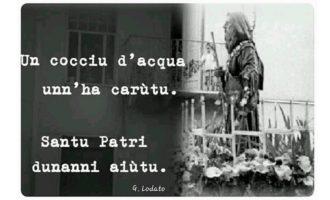Salemi invoca San Francesco di Paola per chiedere la pioggia. Dopo 20 anni la processione